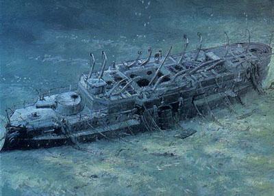 Фото корабль в шторм